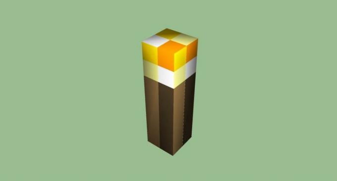 как сделать факел в майнкрафте