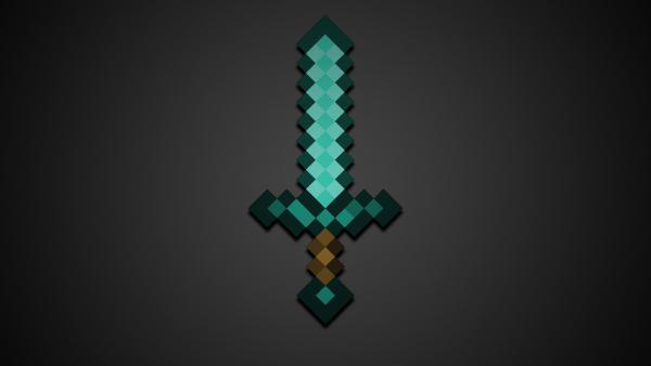 Как сделать меч в игре Майнкрафт