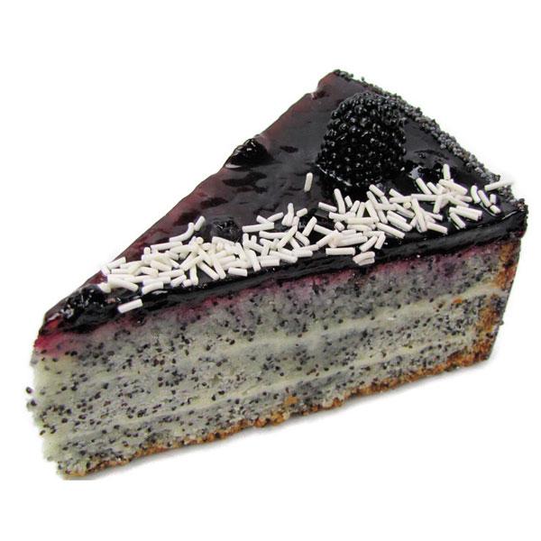 Как испечь пирог с маком и черникой без муки
