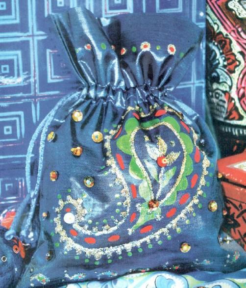 сумка в восточном стиле