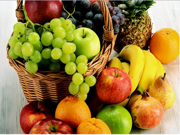 Набор фруктов для приготовления подарочной корзины
