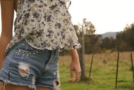 Как сделать рваные шорты