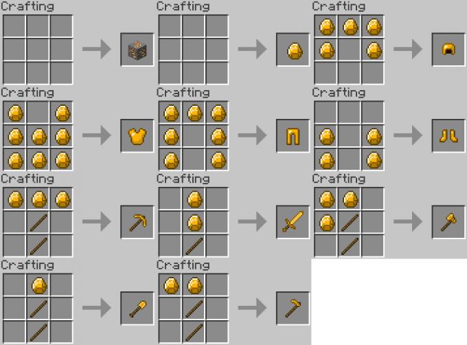 Как сделать алмазную броню в minecraft