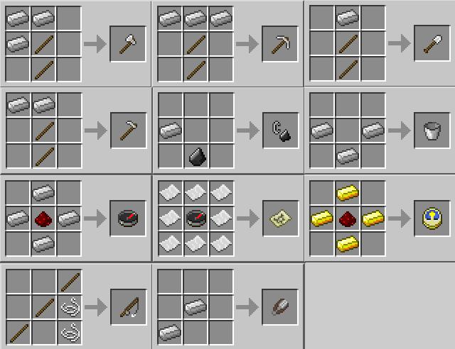 Схема создания всех важных инструментов