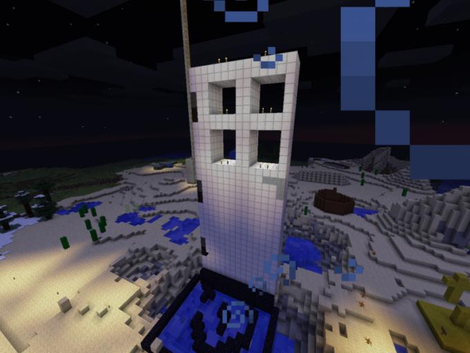 Как открывать железную дверь в Minecraft