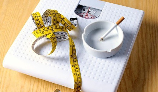 Как курение влияет на вес