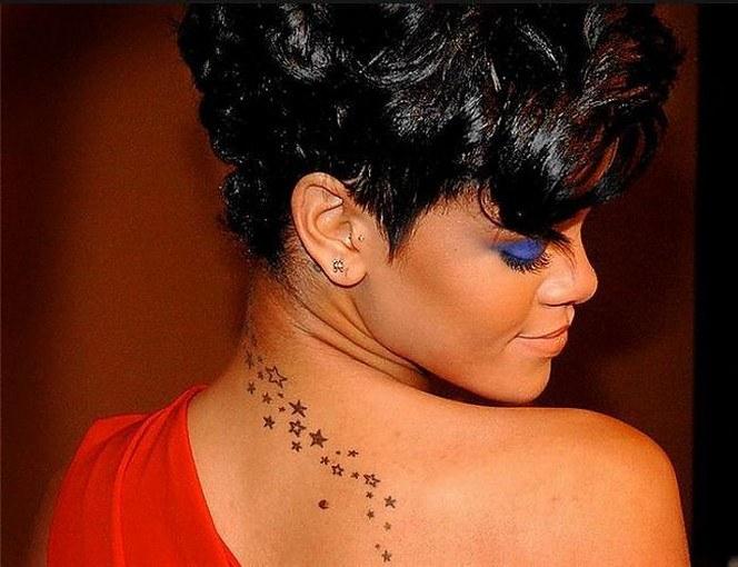Tattoo singer Rihanna