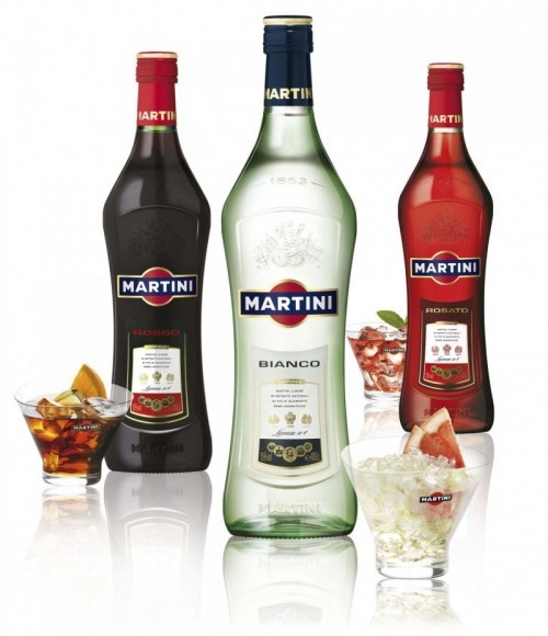 What is the difference between Martini bianco, rosato and rosso