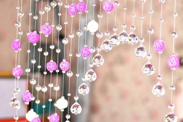 Как сделать шторы из бусин