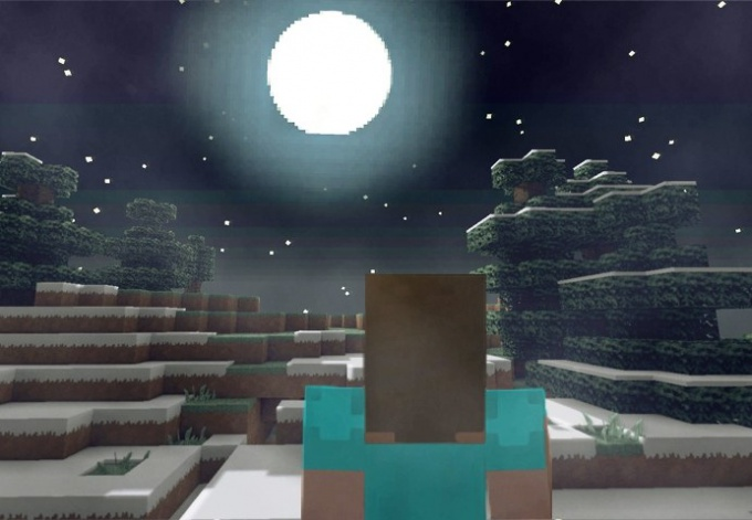 В Minecraft ночь - довольно опасное время