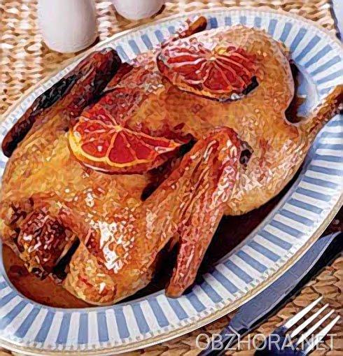 Красивая глазурь для мяса