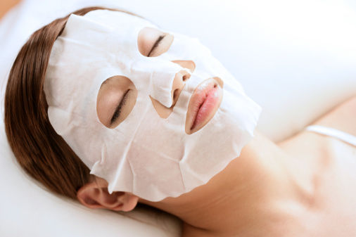 Чайная маска для лица