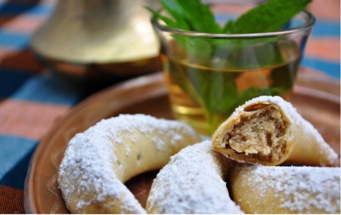Марокканское печенье с миндальной пастой