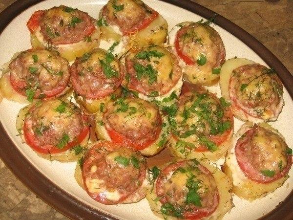 Блюдо в духовке