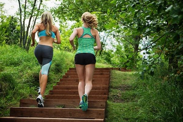 Тренировки на лестнице