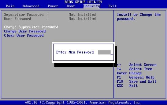 Как сбросить пароль BIOS