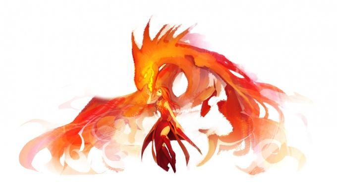 Lina - один из самых агрессивных саппортов