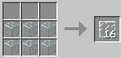 Создаем стеклянную панель в Майнкрафте