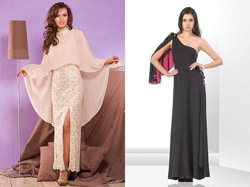 Choose a beautiful Cape for your evening dress