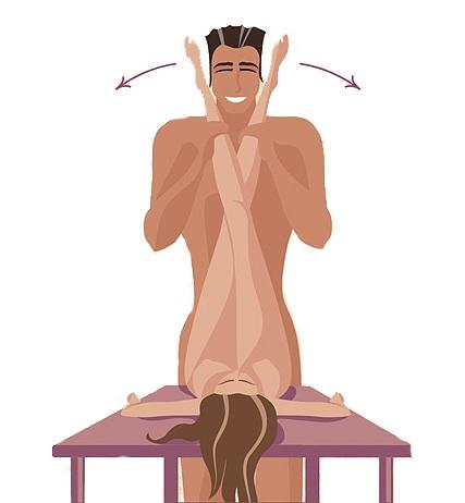 Как заниматься любовью в позе — Ножницы — Поза — ножницы — Секс