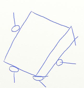 Как нарисовать Губку Боба поэтапно