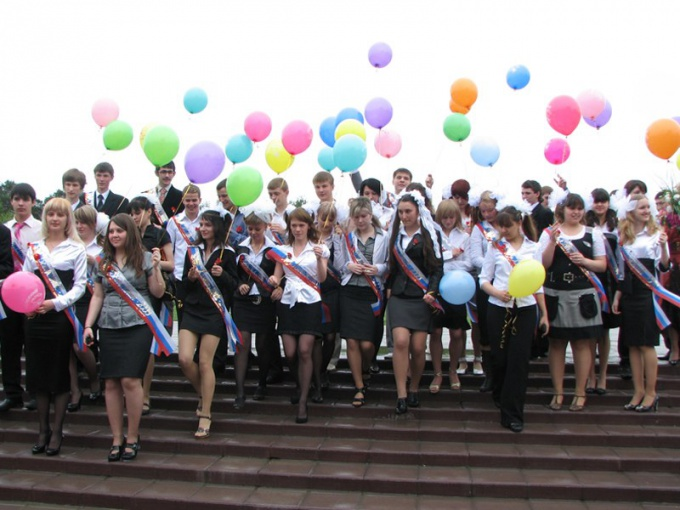 Выпускной - особый школьный праздник