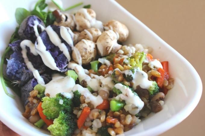 Салат послужит вам сытным обедом
