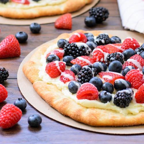 Как приготовить сладкую пиццу с рикоттой