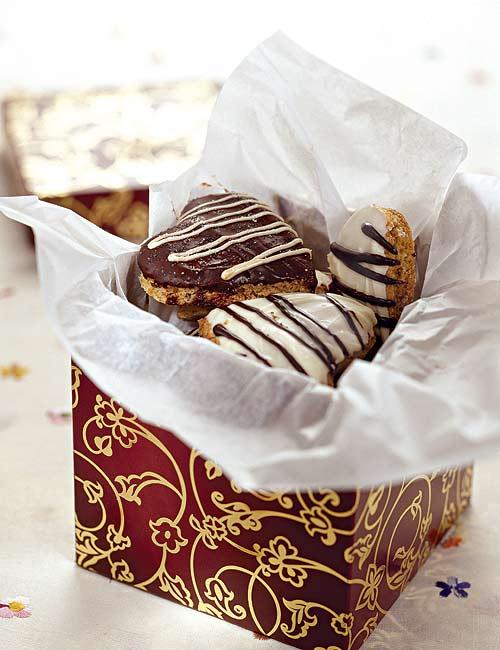 """Как приготовить печенье """"Шоколадные сердечки"""""""