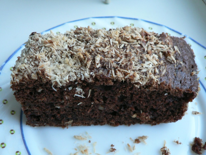 Кекс шоколадный с кабачками