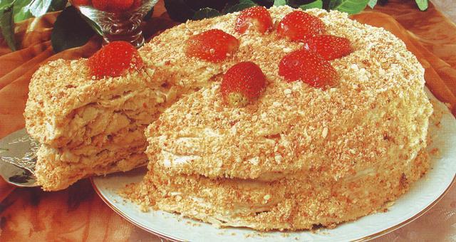 "Торт старый ""Наполеон"""