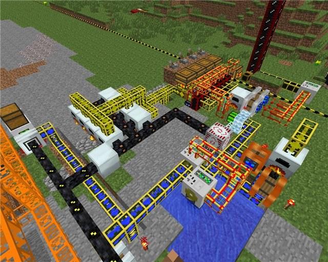 Как создать дробитель в minecraft