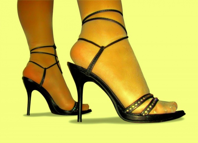 Very often the reason for spasm in the legs become too high heels