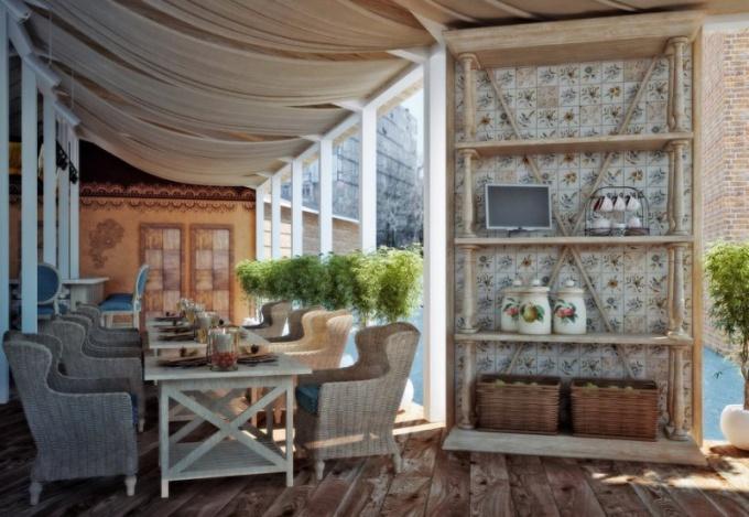 Как создать небольшое уютное кафе
