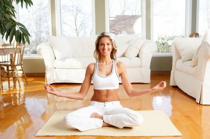 Как снять видео-урок по йоге