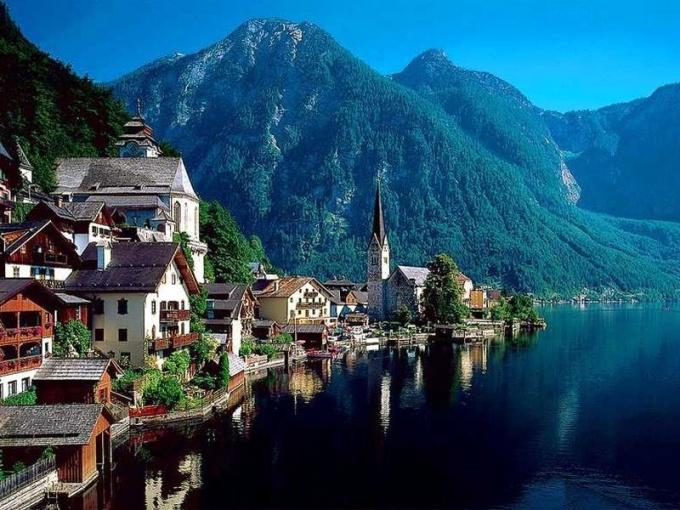 Красоты Австрии привлекают внимание не только рядовых туристов