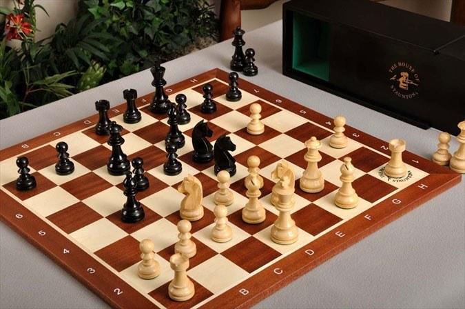 Как сделать шахматную доску из дерева