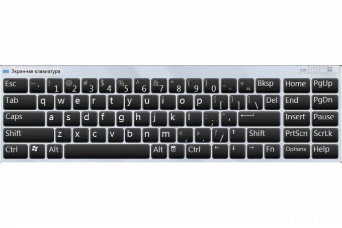 Как сменить язык ввода на экранной клавиатуре