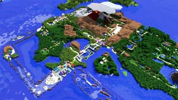 Свою территорию в Minecraft лучше сразу заприватить