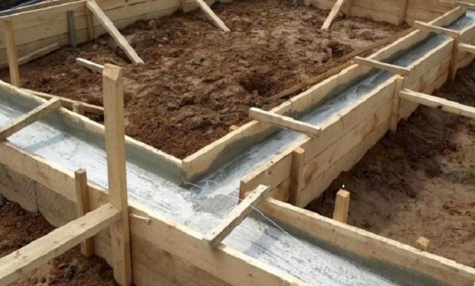 Как самостоятельно построить ленточный фундамент