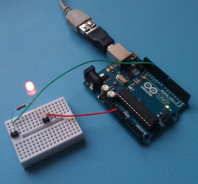 Arduino  в действии