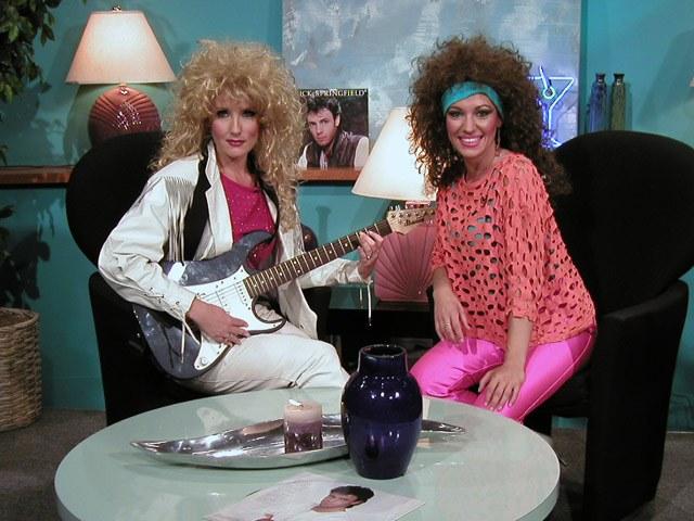 Стиль 80-х годов: одежда, прически и макияж