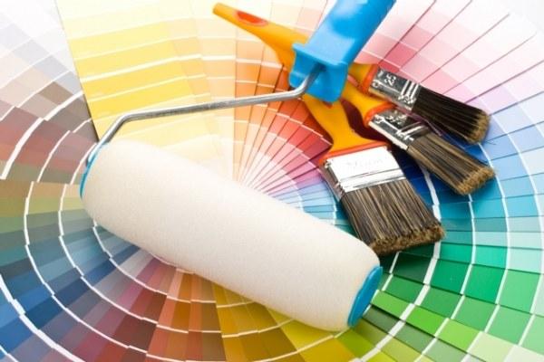 Приспособления для окраски потолка