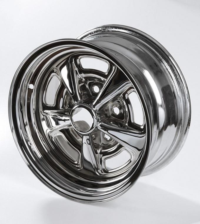Chrome plated rim