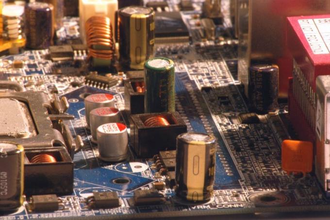 Внутренности компьютера