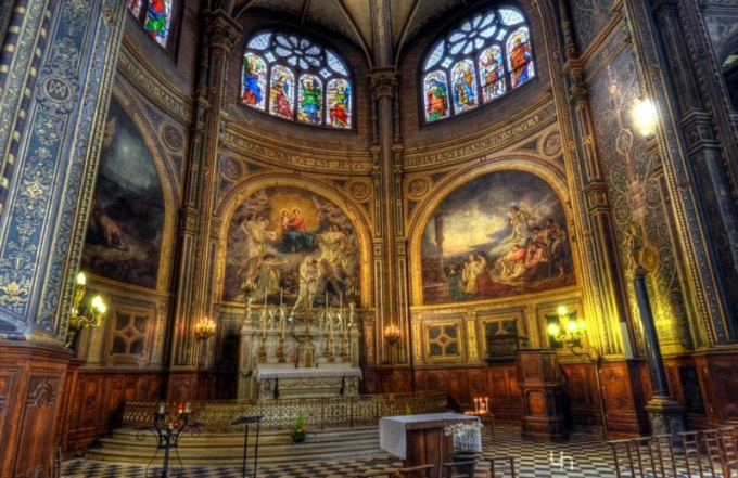 Христианская православная церковь - это воплощение единства Небесного и Земного миров