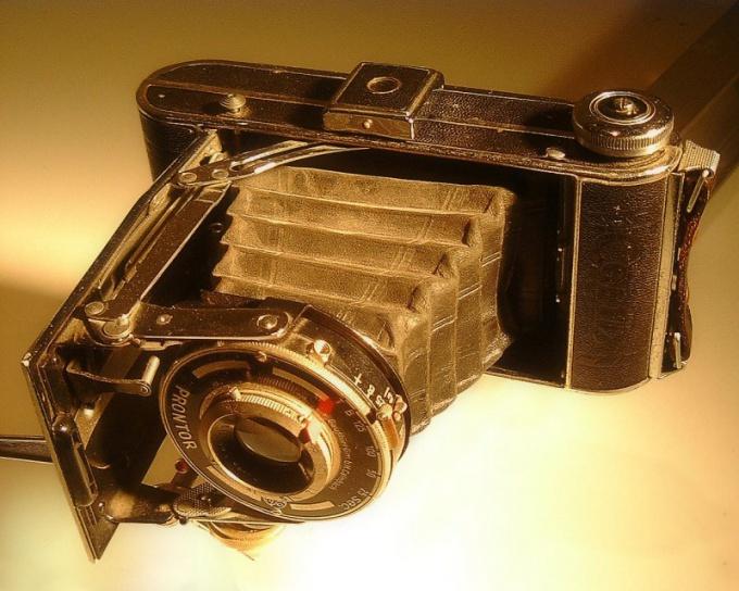 Доисторический фотоаппарат