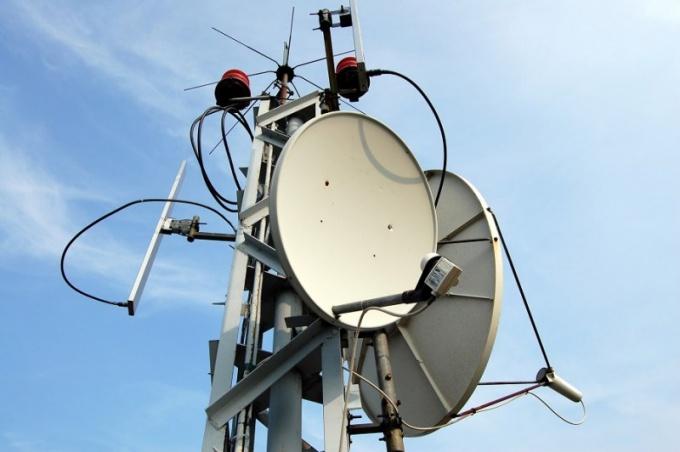 Вышка беспроводной мобильной связи