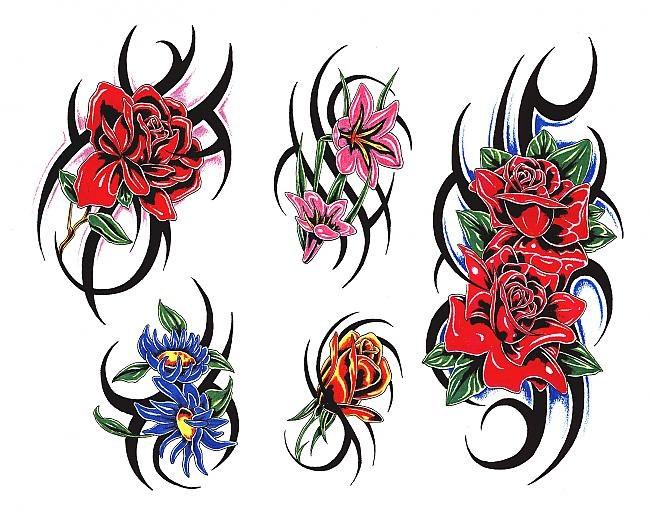 Где найти рисунки для татуировок