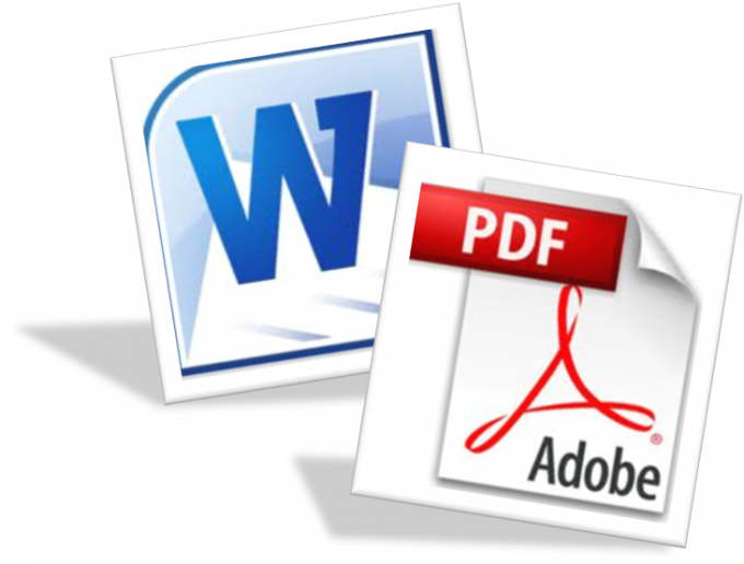Конвертация PDF в doc